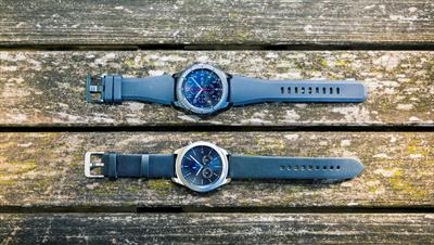 The latest smartwatch from Samsung comes in two stunning designs…