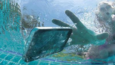 Find out if your phone will survive a splash…