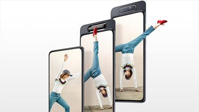 It might be a mid-range phone, but the Samsung Galaxy A80 is packed full of innovative new tech.