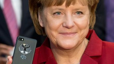 BlackBerry Angela Merkel