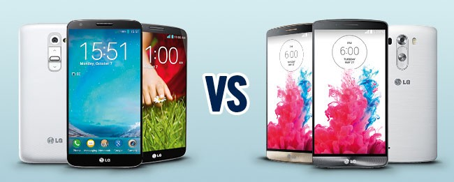 LG G3 takes on the LG G2