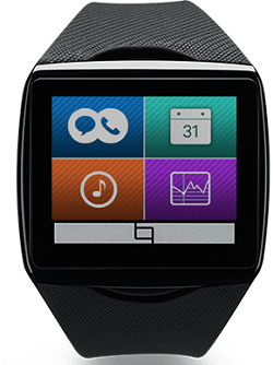 The Qualcomm Toq uses a Mirasol screen
