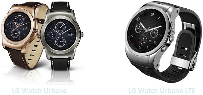 LG Watch Urbane & Watch Urbane LTE