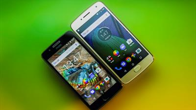 Lenovo reveals two new smartphones - the Moto G5 and Moto G5 Plus...