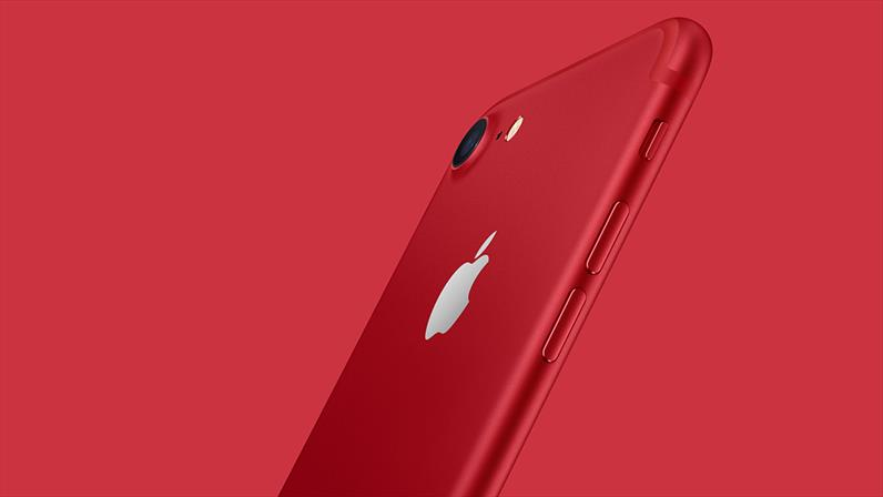 Special edition iPhone 7 (RED) available at Carphone Warehouse...