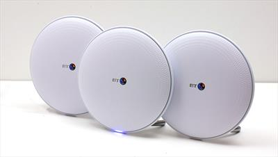 Could a 3-disc mesh Wi-Fi system put an end to your 'dead zone' woes?