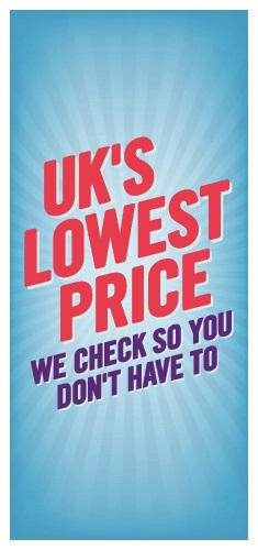 Here at Carphone Warehouse, we compare thousands of prices every day to ensure we give you the cheapest in the UK. We check so you don